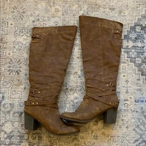 Madden Girl boots size 10